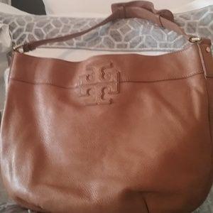 Tory Burch Tan Hobo Handbag